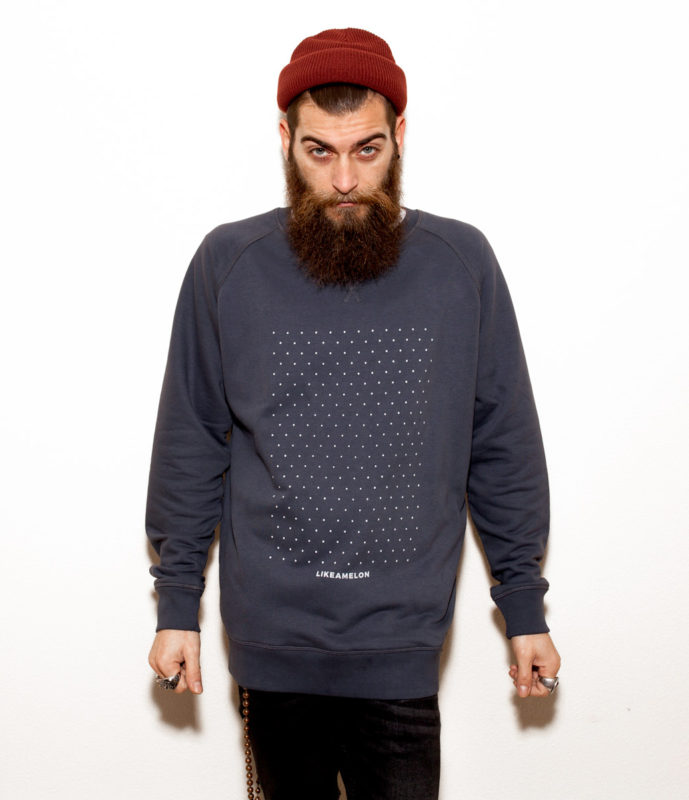 Sudadera Like a Melon: The Finest Blue
